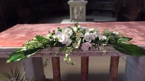Dessus d'autel -Mariage religieux