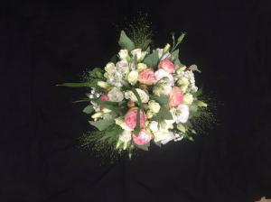 Bouquet rond de demoiselle d'honneur